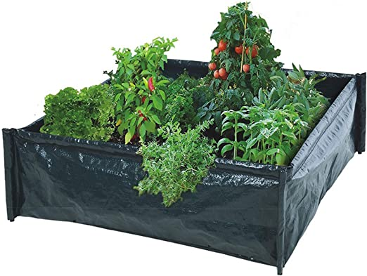 URBNLIVING - Maceta de jardín con forma de flor, de plástico, para plantas y hierbas: Amazon.es: Jardín