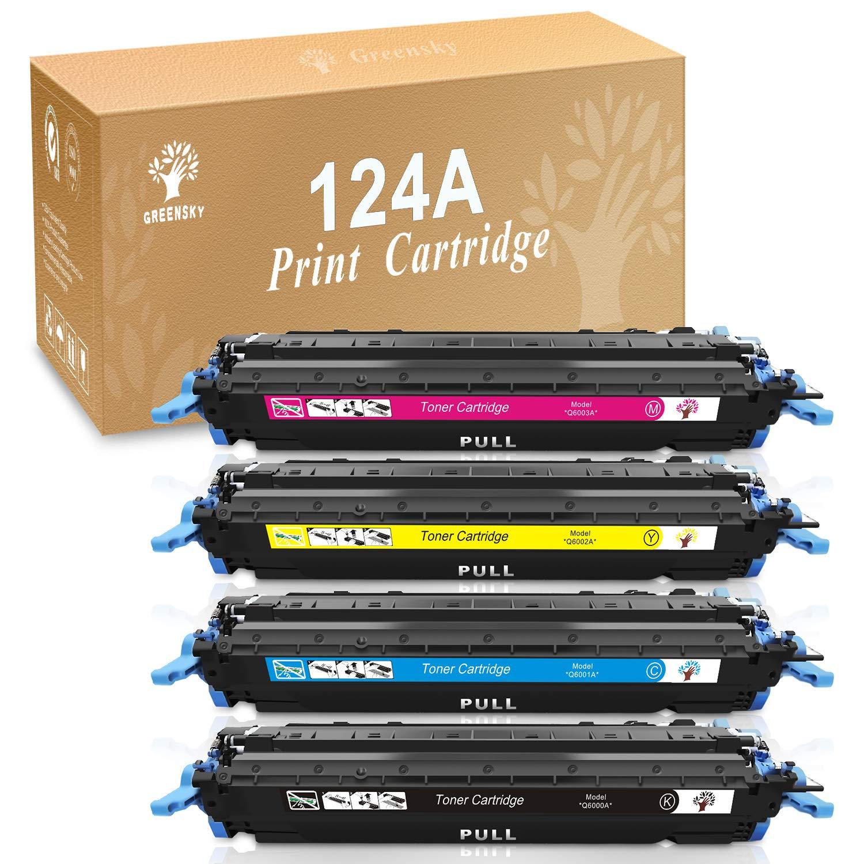 Color Toner For HP LaserJet 2600 1600 2605 cm1015mfp cm1017 Lot Q6000A Black