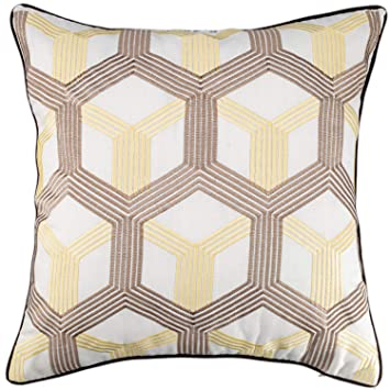 Amazon.com: millianess - Fundas de almohada bordadas de ...