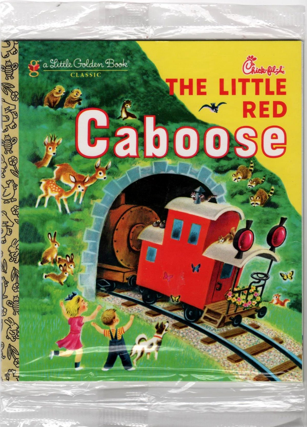 A Little Golden Book Classic The Little Red Caboose (Chick-fil-A) PDF
