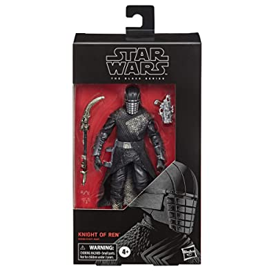 "Star Wars The Black Series Knight of Ren Toy 6"" Scale The Rise of Skywalker Collectible Figure, Kids Ages 4 & Up: Toys & Games"