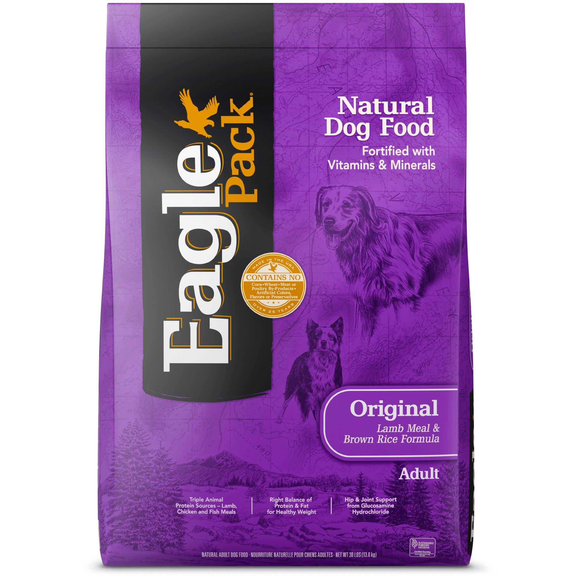 Amazon Eagle Pack Dog Food