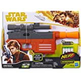 Star Wars Solo Han Solo Nerf Elite Blaster with Glowstrike Technology