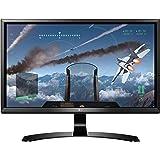LG 24UD58-B 24-Inch 4K UHD IPS Monitor with FreeSync, Black