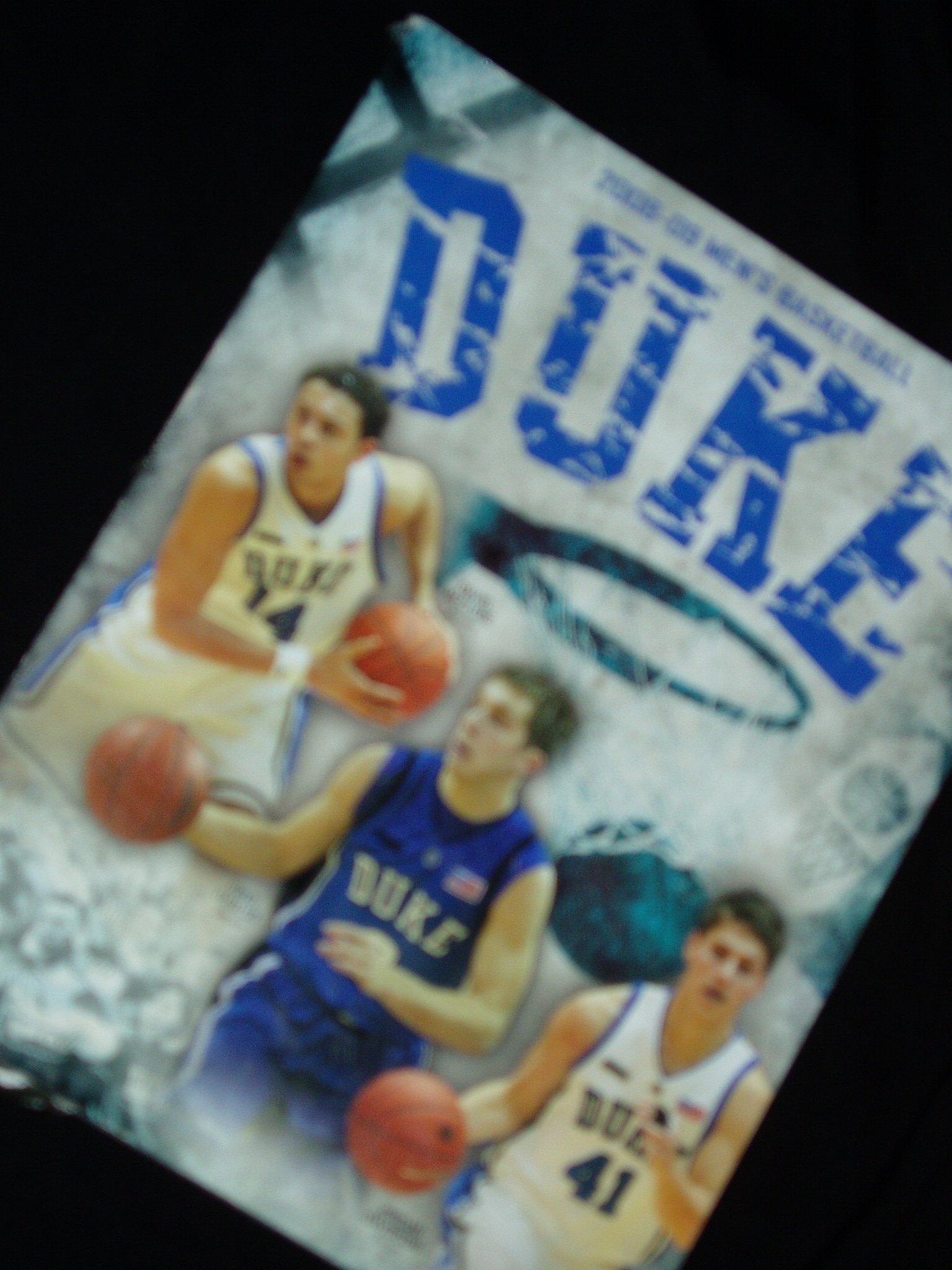 Download 2008-09 Duke Men's Basketball Yearbook PDF