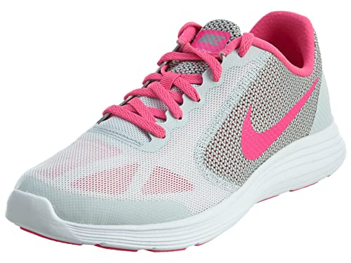 592712bc74e Nike Revolution 3 KIds Running Shoes Pure Platinum Pink Blast Wolf  Grey White 6.5 M US Big Kid  Buy Online at Low Prices in India - Amazon.in