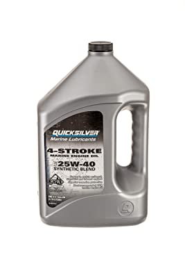Quicksilver 4-Stroke Marine Engine Oil – SAE 25W-40