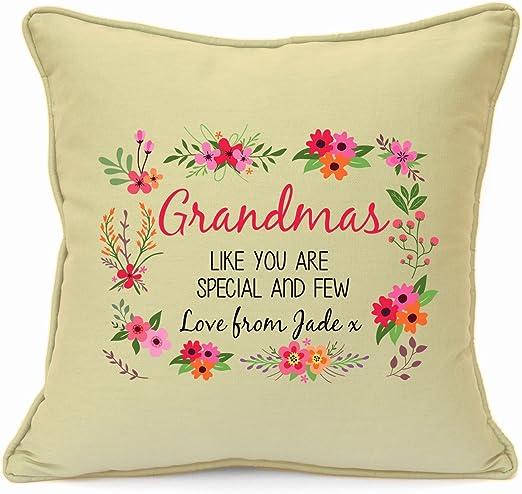 PERSONALISED GODDAUGHTER CHRISTMAS CUSHION GRANDDAUGHTER GIFT