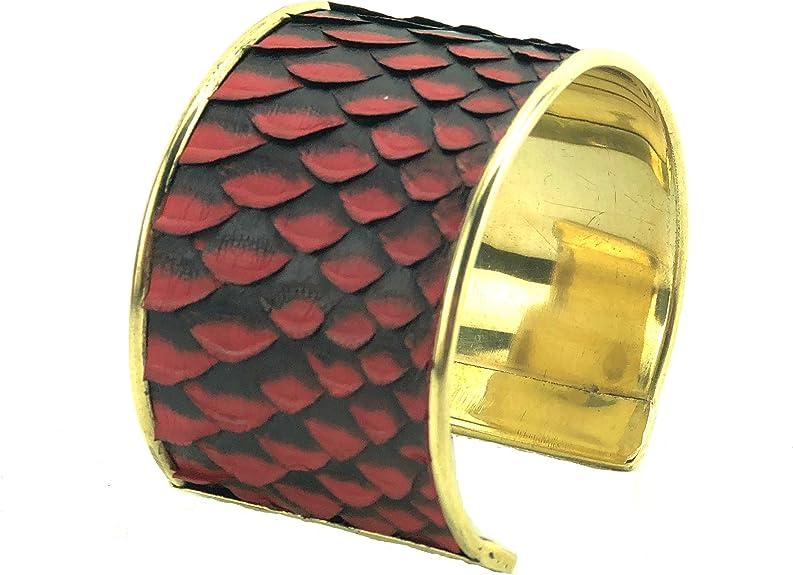 1.5 genuine python on solid brass