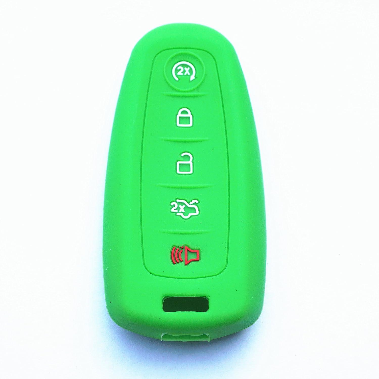 リモートスマートキーケースカバーチェーンバッグ交換用 グリーン M3N5WY8609 20094-lv B078LNPTR9  17