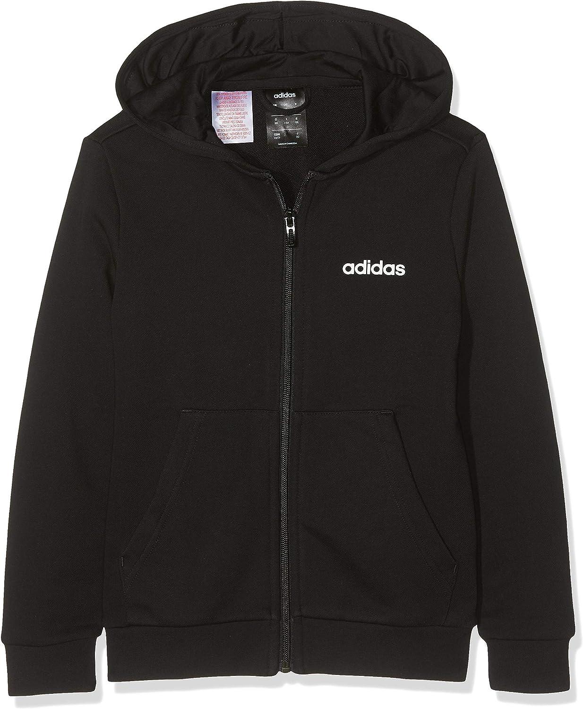 Adidas Youth Boys Essentials Linear Full Zip Hoodie