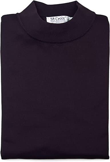St Croix Mens Big and Tall Cotton Blend Long Sleeve Polo Shirt