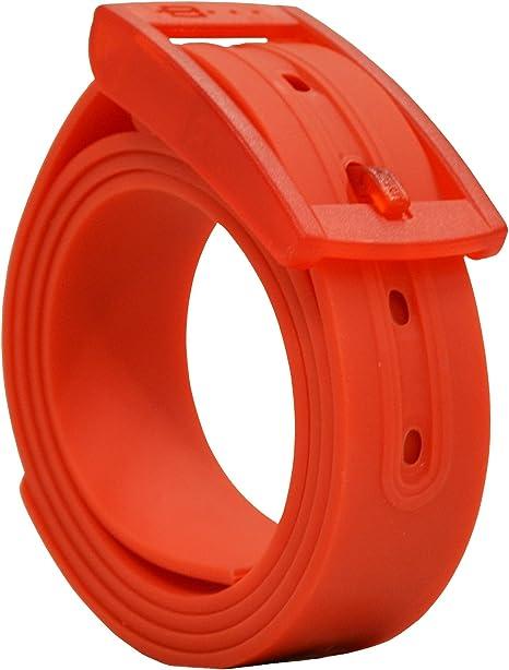 PlugBelt Rojo - Cinturon de Golf para Hombre, Silicona, unitalla ...