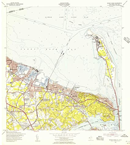 Amazon.com : YellowMaps Sandy Hook NJ topo map, 1:24000 ... on newtown conn map, watertown map, fairfield map, avalon map, jacob riis park map, beach haven map, westport map, white plains map, prospect map, cherry hill map, long branch map, newtown connecticut map, albany map, essex map, new castle map, bloomfield college map, milford map, tuckerton seaport map, roxbury map, woodstock map,