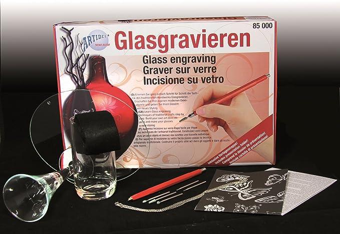 CREARTEC Glasgravur Beginner Set