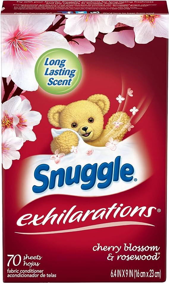 Snuggle Exhilarations Fabric Softener Sheets