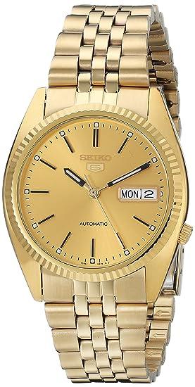 Seiko Watches SNXJ94 - Reloj de pulsera hombre, color Oro: Amazon.es: Relojes