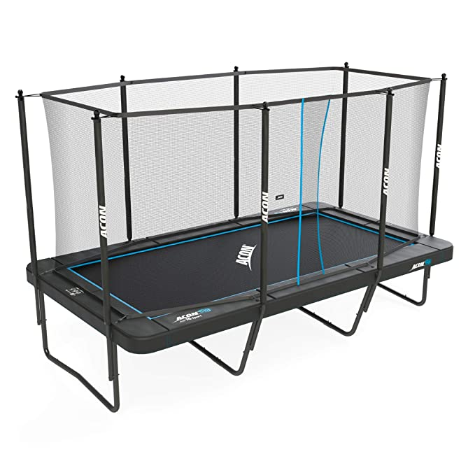 Acon Trampoline Air 16 Sport HD with Enclosure - Best Rectangle Trampoline
