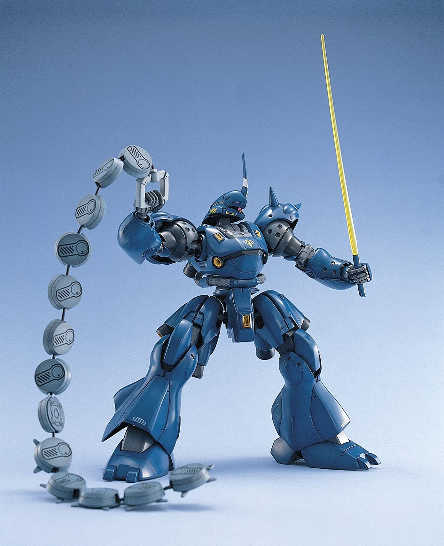 Blu Bandai Hobby BAN100366 Figurina Dazione MS-18E Kampfer Gunpla MG
