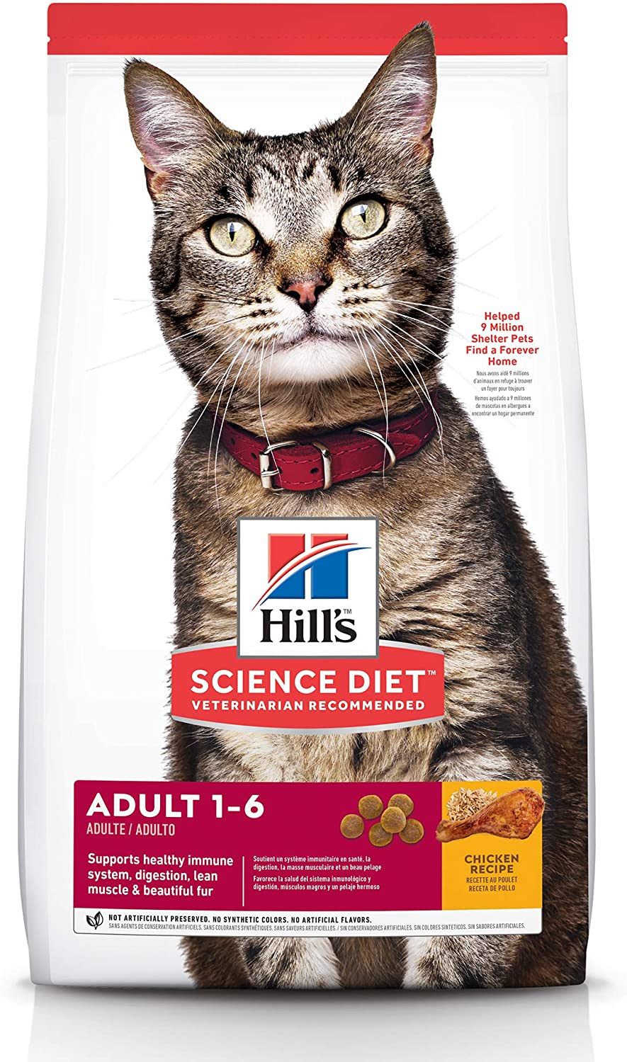 science diet cat food compared