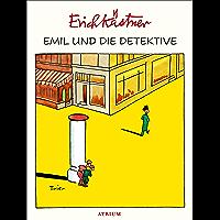 Emil und die Detektive (German Edition) book cover