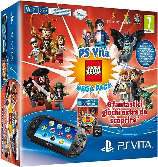 Sony PS VITA 2000 + LEGO Mega Pack - videoconsolas portátiles (640 ...