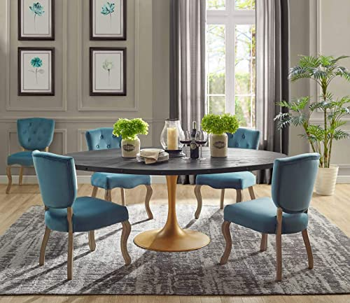 Modway Drive 78 Modern Farmhouse Dining Table