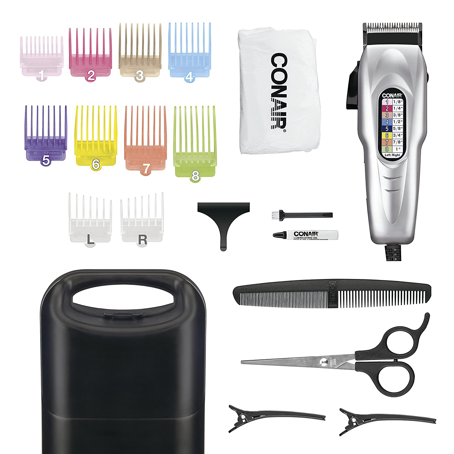 Conair Number Cut 11-piece Home Haircut Kit