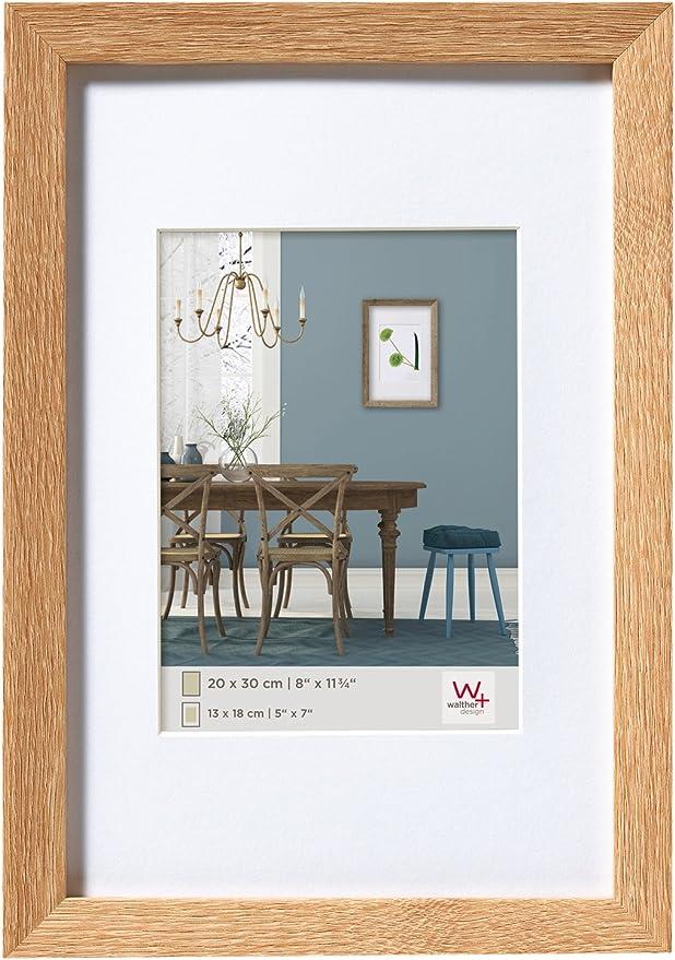Bilderrahmen AMARI 30x70 70x30 6 Farben Massivholz Rahmen Holz Eiche Modern