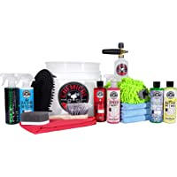 $99 » Chemical Guys HOL169 16-Piece Arsenal Builder Wash Kit with Torq Foam Cannon, Bucket and (6)…
