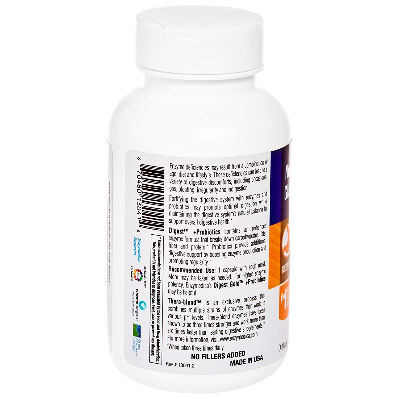 Enzymedica Digest Basic + Probiotics 90 Capsules