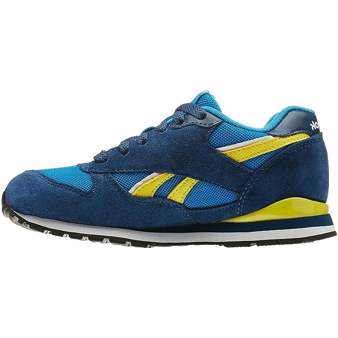 Reebok Classic GL 2620 Blue Youths Trainers Size 6 UK 2FXcZhjw