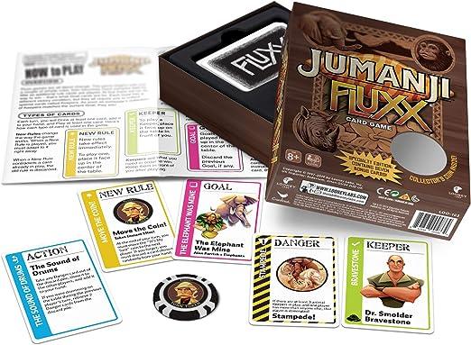Looney Labs 103 Jumanji Fluxx - Juego de Mesa: Amazon.es: Juguetes y juegos