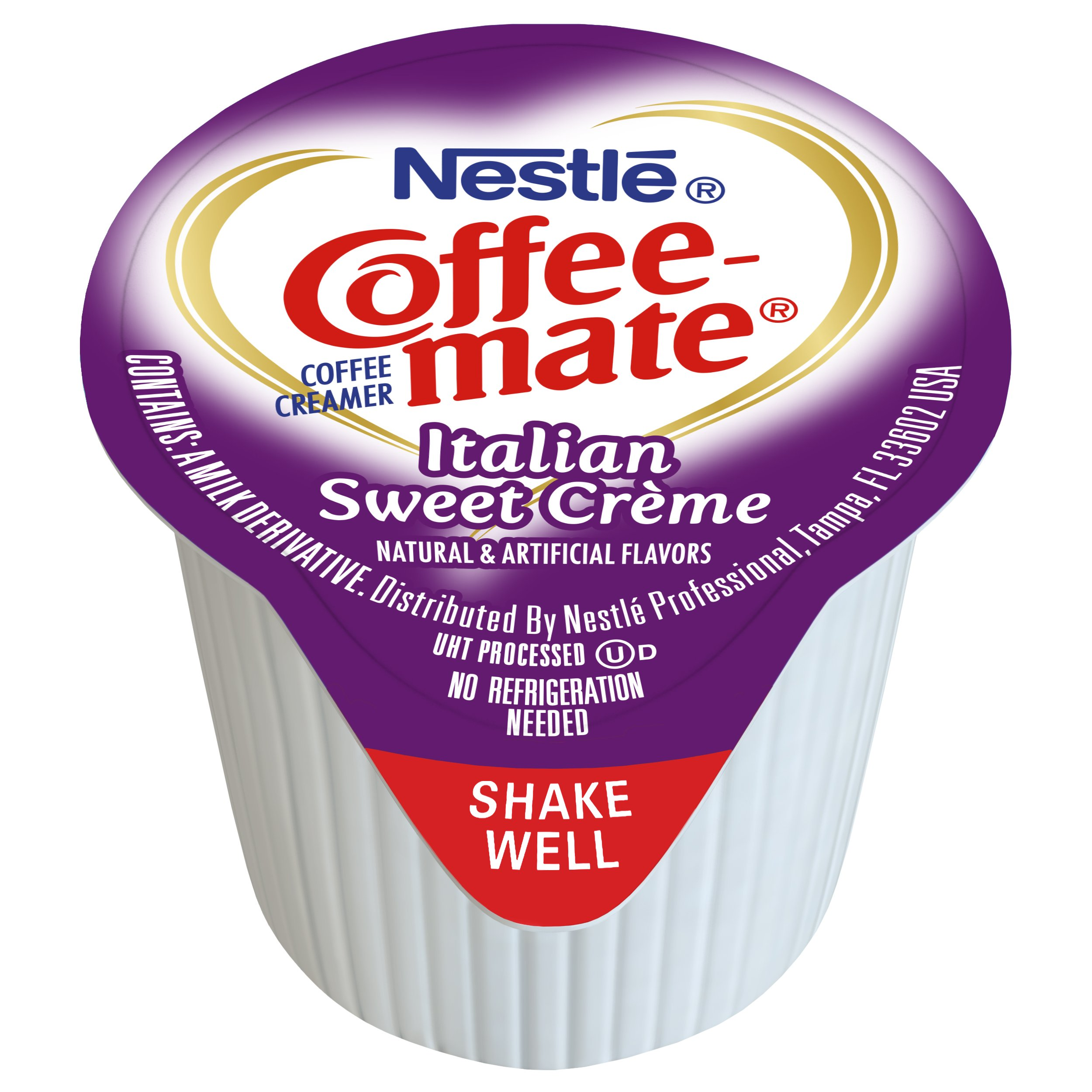 Nestle Coffee-mate Coffee Creamer, Italian Sweet Crème, liquid creamer singles, 180 Count (Pack of 1) by Nestle Coffee Mate (Image #2)