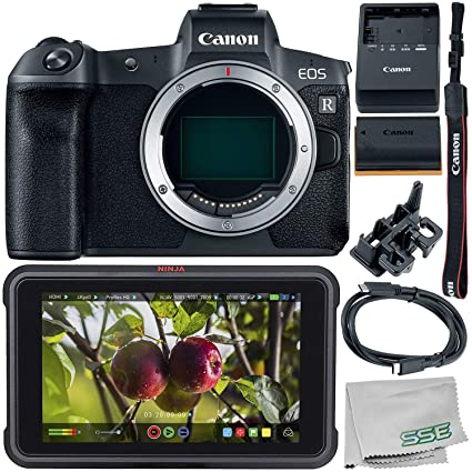 Amazon com : Canon EOS R Mirrorless Digital Camera (Body Only) with