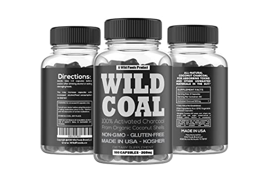 Activated Charcoal from 100% Organic Coconut Shells