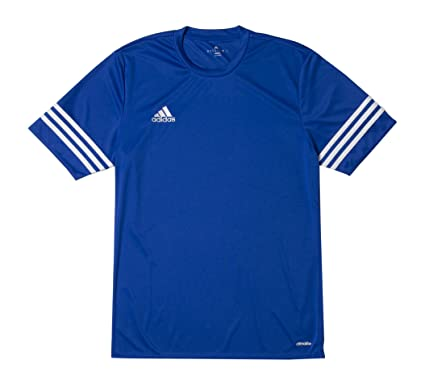 adidas Entrada 14 JSY, Camiseta para niños, Azul (Cobalt/White),