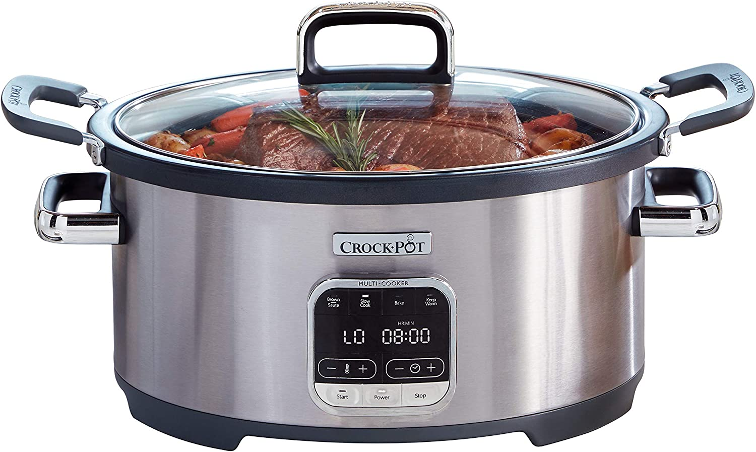 Crock-Pot 3-in-1 Multi-Cooker, Stainless Steel