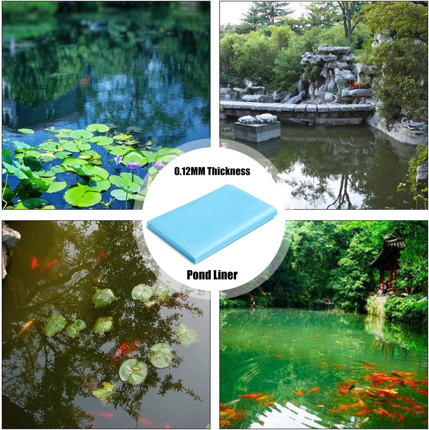Explopur Pond Liner,3.5X5.0M Fish Pond Liner Pond Skin Garden Landscaping Supplies Equipment