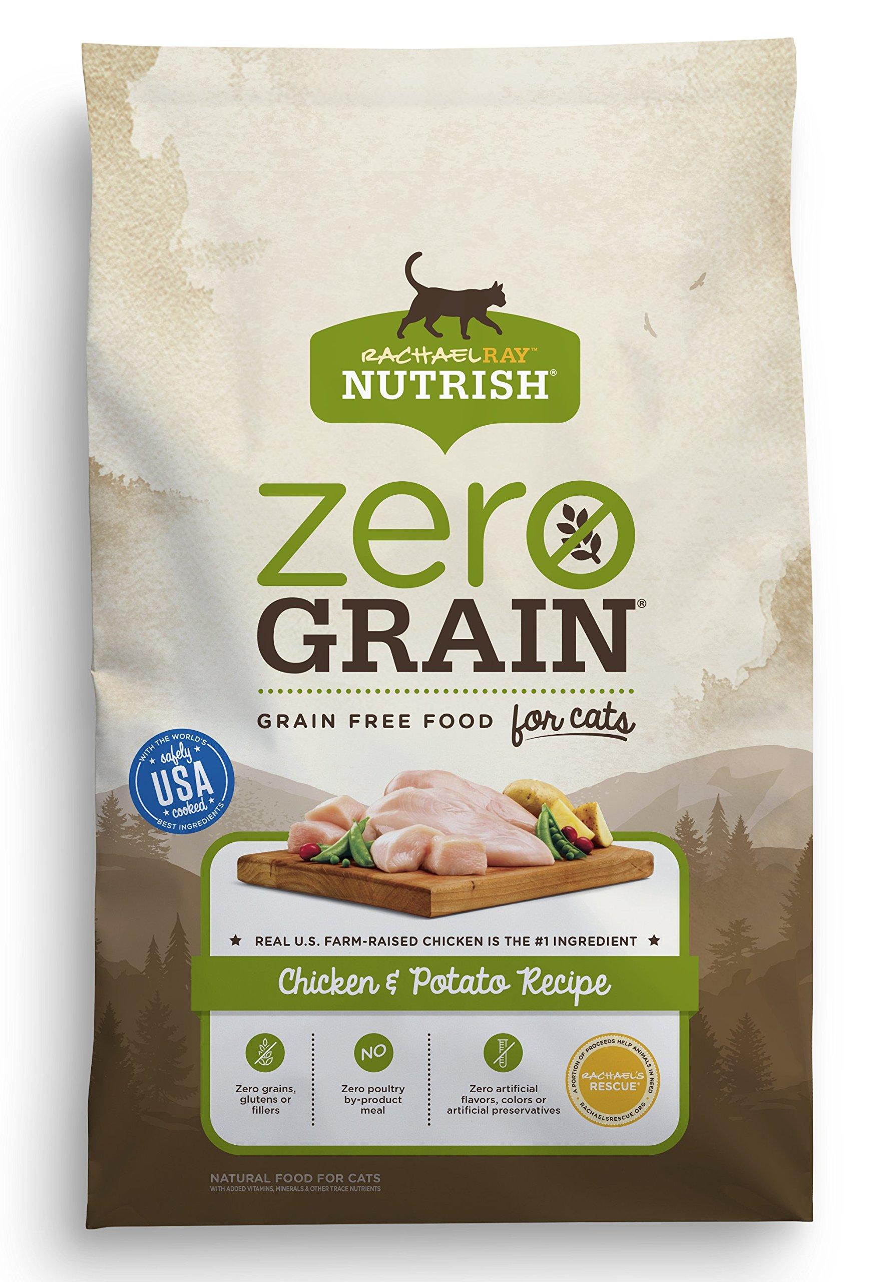 Rachael Ray Nutrish Zero Grain Natural Grain Free Dry Cat Food