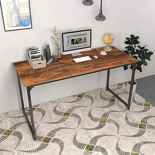 Smile Back Office Desk Computer Desk 55.2 Small Desk Modern Simple Style PC Table