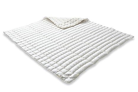 Badenia 03883211000 Merino - Funda de colchón (percal y relleno de algodón), color