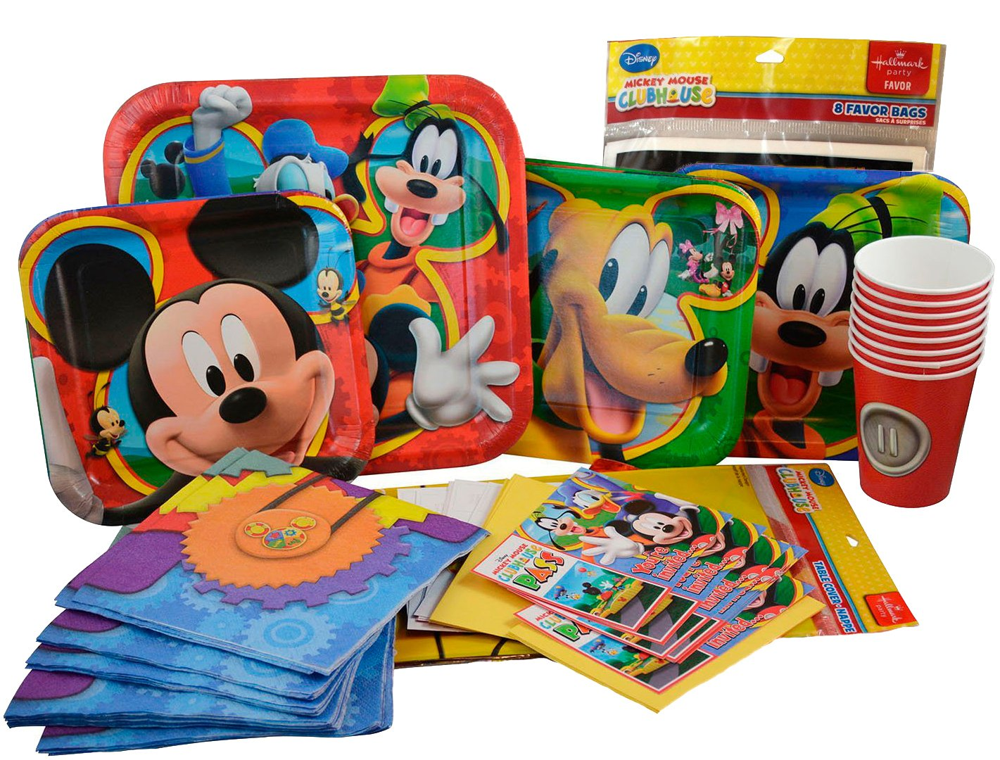 Amazon Com Mickey Mouse Party Supplies Birthday Pack Mickey And