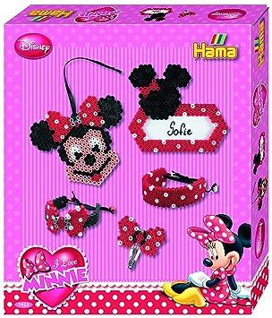Hama 7955 Geschenkpackung Minnie Maus Ca 2500 Bügelperlen Und