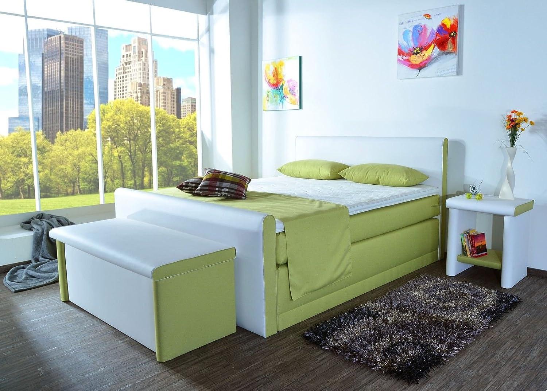 boxspringbett amos bt auch mit bettkasten oder elektrisch erh ltlich 80x200cm 90x200cm. Black Bedroom Furniture Sets. Home Design Ideas
