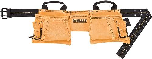 DEWALT DG5372 Carpenter s Suede Apron, 12 Pocket