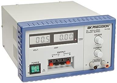 B K Precision 1670A Triple Output Digital Display DC Power Supply, 30V, 3A