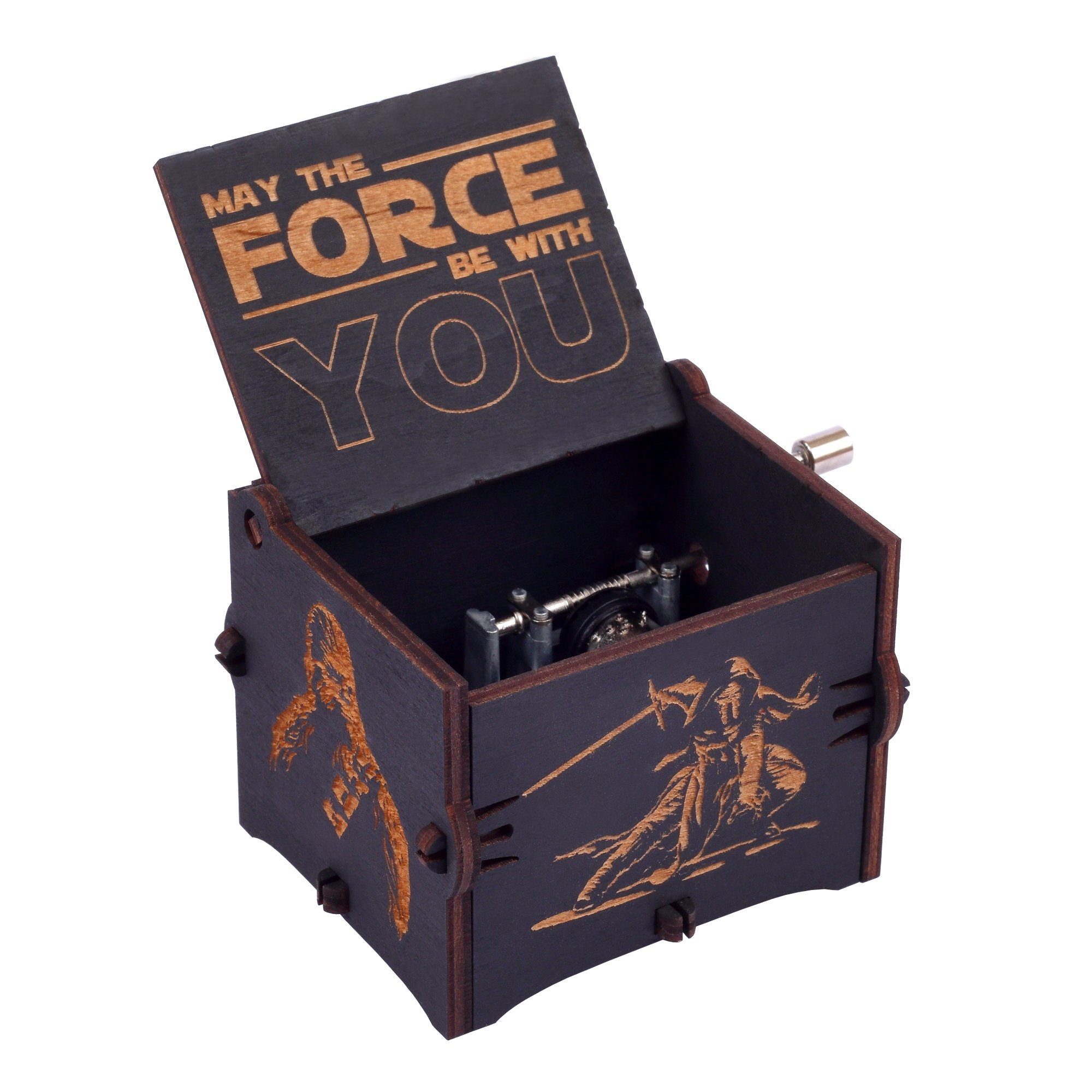 Enjoy The Wood Star Wars Music Box Wooden Star Wars Custom Gift for Boyfriend Gift for Brother by Enjoy The Wood