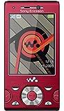 Sony Ericsson W995 Energetic Red Mobile Phone No Contract, No Branding, No Simlock