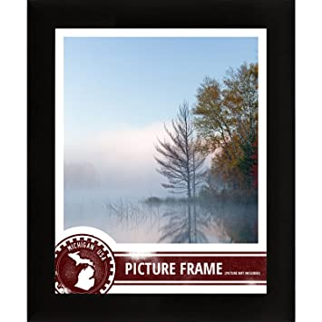 craig frames 1wb3bk 18 by 24 inch picture frame smooth wrap finish 1